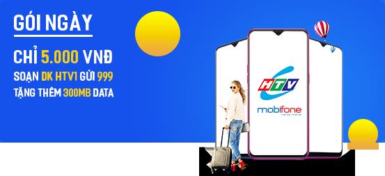 Gói HTVC Free data cho thuê bao Mobifone